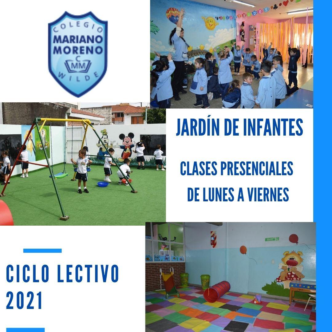JARDÍN DE INFANTES CICLO LECTIVO 2021