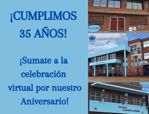 ¡CUMPLIMOS 35 AÑOS!